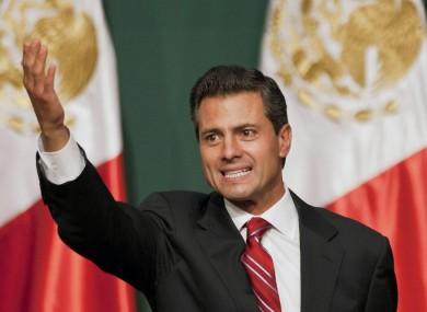 Enrique Pena Nieto is Mexico's new president-elect.