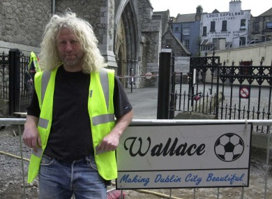 Mick Wallace before he became a TD (File)
