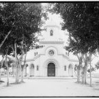 The chapel at Havana's Colon Cathedral, between 1900 and 1906. (Library of Congress, Prints & Photographs Division)