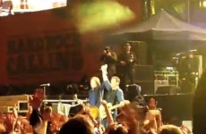 Video: Springsteen and McCartney have mics cut at London gig