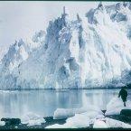 New Fortuna Glacier, 1915 during the Endurance voyage. (Image: Frank Hurley)