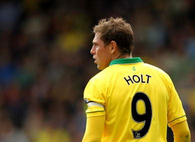 Grant Holt: staying put.