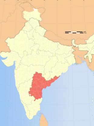 Andhra Pradesh province in India