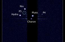 Hubble telescope spots fifth moon near Pluto