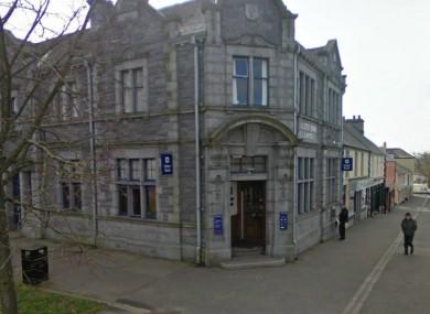 The Ulster Bank branch in Castlewellan