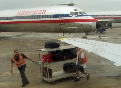 File photo of planes on the tarmac at San Antonio's international airport.