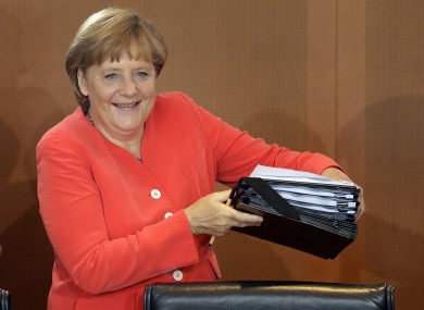 A new EU treaty giving further power to the rules of the Fiscal Compact is high on Angela Merkel's agenda, Der Spiegel says.