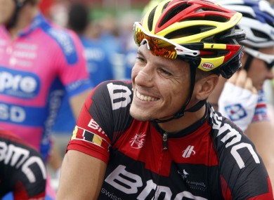 Phillipe Gilbert has plenty to smile about after today's stage win.