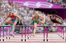 Derval O'Rourke qualifies for 100m Hurdles semi-final