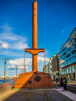 Do you know what this artefact on Sir John Rogerson's Quay was used for? Read on...