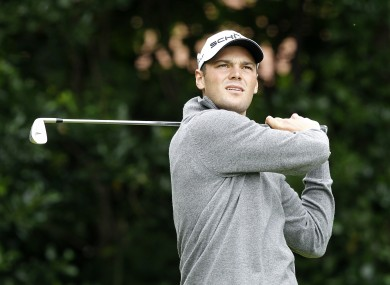 Kaymer will compete for Europe at this year's Ryder Cup.