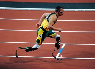Science Corner How The Prosthetic Blades Of Paralympic