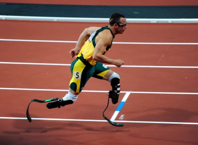 Pistorius is fresh from an impressive display at the Olympics.
