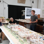 Zuckerberg wanted the space to be one big, open building. (Image: Everett Katigbak, Facebook)