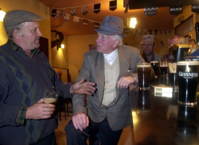 You can be sure these lads in O'Shea's of Killorglin, Co Kerry knew