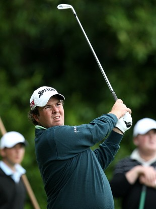 Ireland's Shane Lowry in action