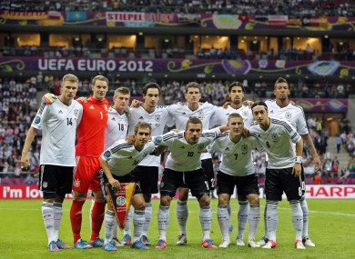 The midfielder, second from right on back row, was amongst those critisi
