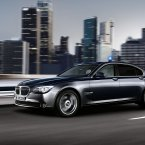 The BMW 7 Series High Security in action. (BMW Group)