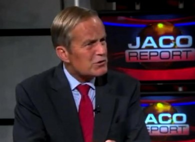 Todd Akin appearing on the Jaco Report yesterday morning