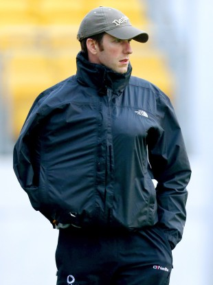 Michael Rice watching the Kilkenny side training.