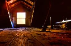 Woman finds ex-boyfriend living in her attic
