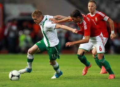 Duff against Hungary.