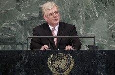 """Eamon Gilmore tells UN: Palestinian state is """"long overdue"""""""