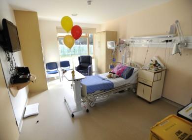 A ward in Crumlin Children's Hospital (File photo)