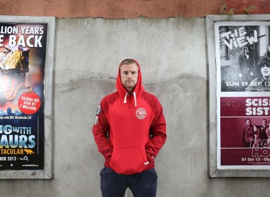 Jamie Heaslip was speaking at the launch of the new PUMA Easy Rider apparel, available at LifeStyle Sports.
