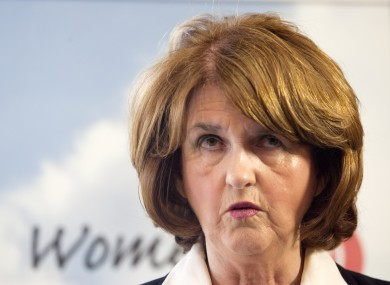 File photo of Joan Burton, Minister for Social Protection