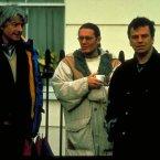 Neil Jordan, Stephen Woolley and Nik Powell on the set.