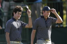 Americans in sight of Ryder Cup triumph