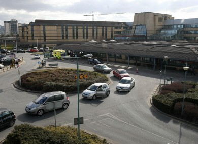 General view of Tallaght hospital in south Dublin.