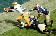 49,000 fans watch on as Notre Dame cruise to victory in Aviva