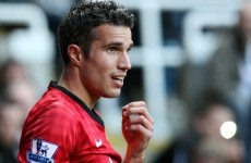 Van Persie avoids FA sanction despite Pardew criticism