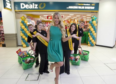 The opening of the Tallaght store in August.