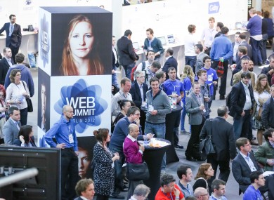The Dublin Web Summit this afternoon
