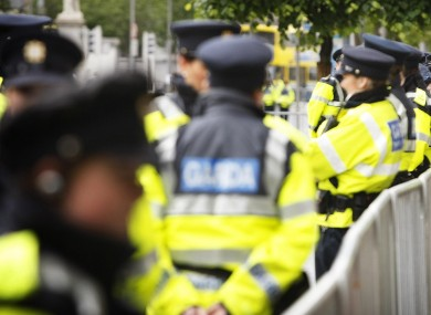 There are 800 assaults every year on members of the gardaí according to Dara Calleary.