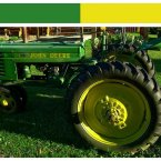 Deere & Company's leaping deer symbol, name, and green and yellow color scheme have become perhaps synonymous with outdoor power equipment. That is why the company owns the rights to all three of these, prohibiting any other such machinery maker from using them separately or combined. (Image: dmott9/Flickr)