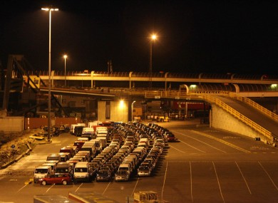File photo of Rosslare Ferryport.