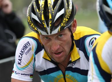 Lance Armstrong: facing a legal battle after USADA report.