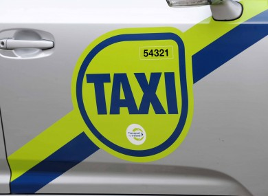 All taxis in Ireland will be obliged to carry these decals on their driver and passenger doors from January.