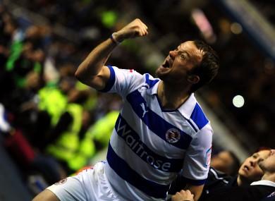 Noel Hunt celebrates (file photo).