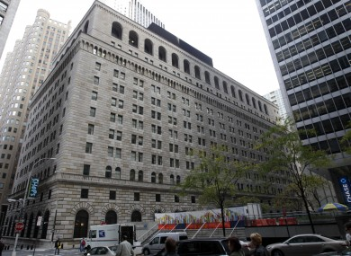 The Federal Reserve Building in Manhattan