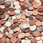 We are all counting the coppers but not at Halloween. Keep them. No really, keep them.