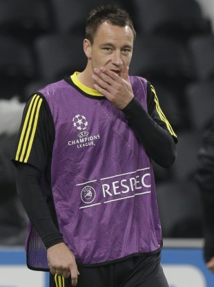 John Terry is expected to play tonight.
