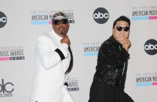 Stop…. Gangnam time! MC Hammer and Psy duet