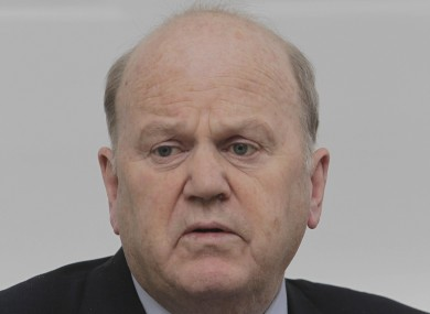 Minister for Finance Michael Noonan. (file photo)