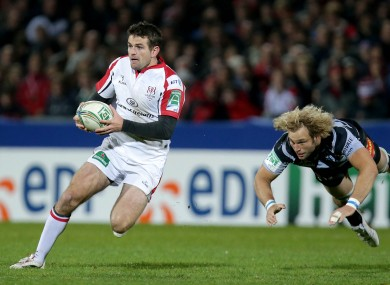 Jared Payne, one of the more familiar faces in Anscombe's squad.