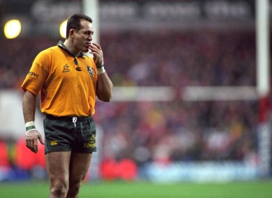 David Campese played 101 Tests for Australia.